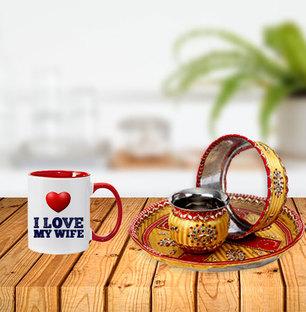 I Love My Wife Karvachauth Combo