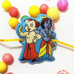 Krishna and Chota Bheem Rakhi