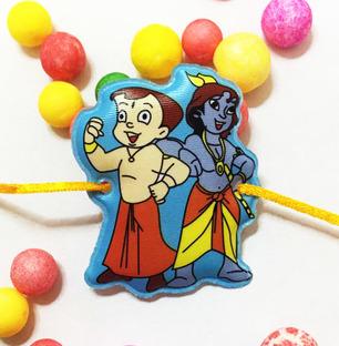Krishna and Chota Bheem Rakhi