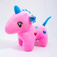 Pink Unicorn Soft Toy