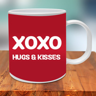 Hugs Kisses Mug