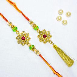 Golden flower Lumba Set