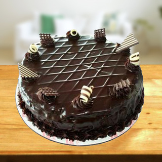 Exclusive Garnished Chocolate Cake