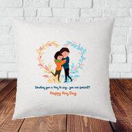 Hug Day Cushion