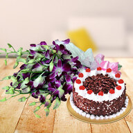 Orchids & Cake