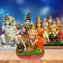 Shiv, Parvati & Ganesh