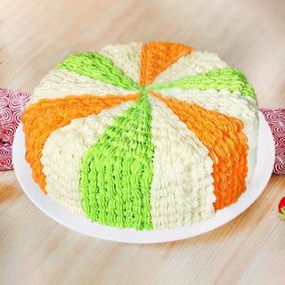 Tricolor Cake