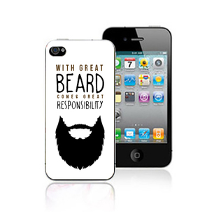 Great Beard Great Responsibility Mobile Cover