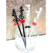 Personalised Couple Stirrers