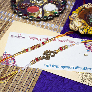 Set of 2 Rakhis-Religious