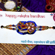 Colourful Zardosi Rakhi