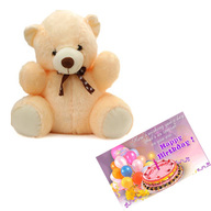 Teddy With Card