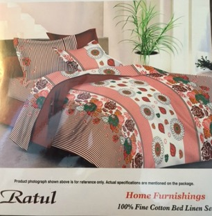 Double Bedsheet Pink