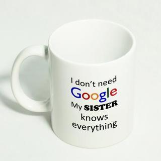 Genius Sister Mug