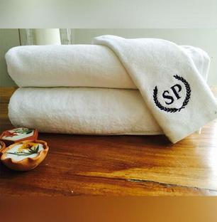 Personalised Monogrammed Bath Towel Set