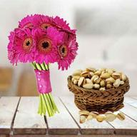 Gerbera With Pistachio
