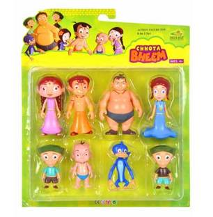 Chota Bheem Figures 8 in 1