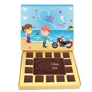 Valentine Love Delight Chocolate Box