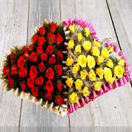 Heart to Heart Flower Arrangement