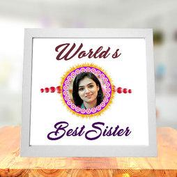 Worlds Best Sister Photo Frame