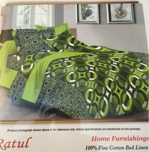 Double Bedsheet Green