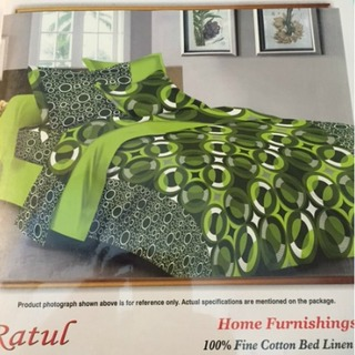Double Bedsheet Green