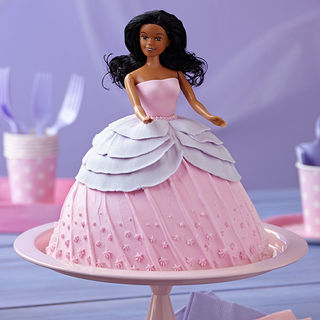 Dashing Barbie Cake