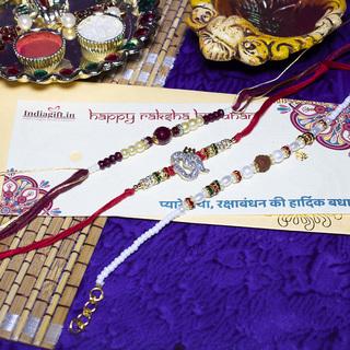 Exquisite Rakhi Combo