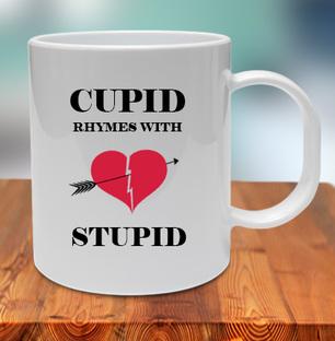 Cupid Stupid Mug