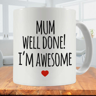 Well Done Mom Photo Mug