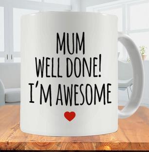 Well Done Mom Photo Mug
