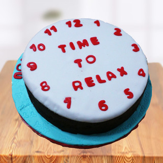 Time to Relax Farewell Cake