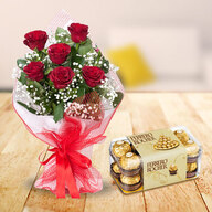Red Roses and Ferrero Rocher