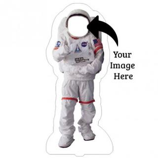 Funny Character Astronaut