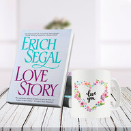 Love Story Book and Mug Combo
