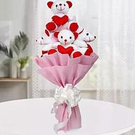 Valentine Teddy Bouquet