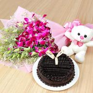Valentine Cuddly Chocolate Odyssey