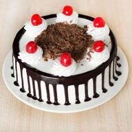 Black Forest Cake With Chocolate Syrup