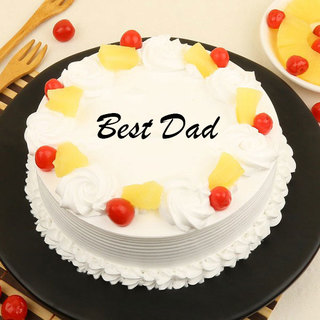 Best Dad Pineapple Cake