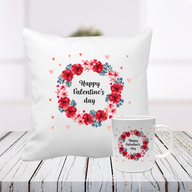 Valentine Special Cushion and Mug
