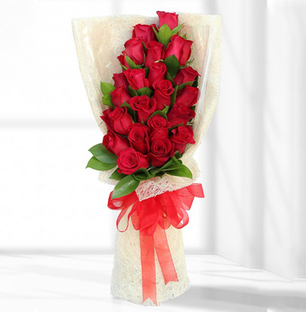 Sizzling Red Roses Bunch