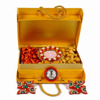 Mix Dry Fruit Box with Coin