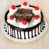 Best Mom Black Forest Cream Cake
