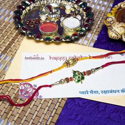 OM Rakhi Combo