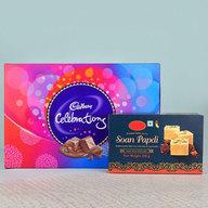 Soan Papdi N Cadbury Celebrations Pack