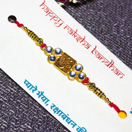 Beautiful OM Rakhi