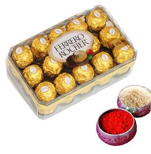Chocolate with Roli Tikka