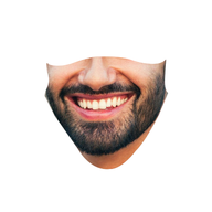 Personalised Male Face Mask