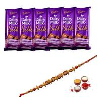 6 Dairy Milk With Rakhi