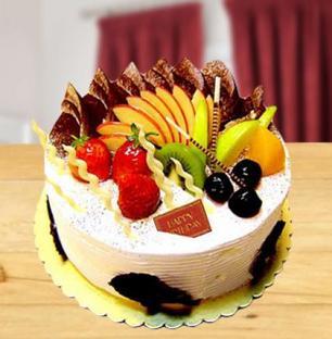 Fresh Fruit Cake Mini